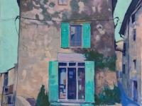 House in Saignon, oil on canvas, 50cm x 70cm