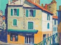 House in Arles, oil on canvas, 51cm x 77cm